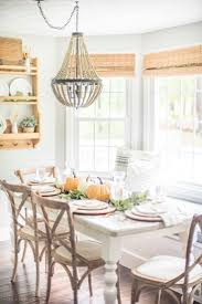 lighting over dining room table. Warm \u0026 Simple Fall Tablescape | Recreate This To Bring Rustic Lighting Over Dining Room Table E