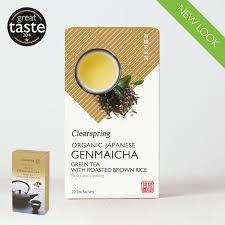 <b>Organic</b> Japanese <b>Genmaicha</b> - 20 Tea Sachets - Clearspring Ltd