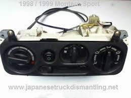 1998 1999 mitsubishi montero sport climate control ac heater fan ac heater climate control
