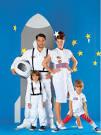 Выкройка костюма космонавта