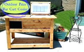 patio bar cart cooler good staining tip in here target outdoor serving s portable plans outside post outdoor serving