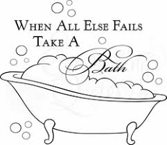 Bath Quotes Vinyl Wall Quotes for Bathroom Laundry Room Wall Decals 45