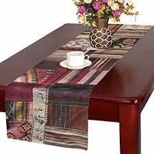 table runner cotton linen home decor