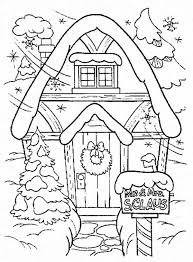 Small Picture Amazing Gingerbread House Coloring Page coloring christmas