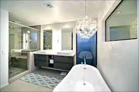 chandelier over bathtub modern images