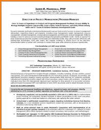 11 Project Manager Resume Summary Offecial Letter