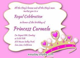 9 Princess Party Invitations Psd Ai Free Premium Templates