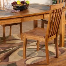 slat back chairs. Sedona Wood Slat-Back Chairs (Set Of 2) In Rustic Oak Slat Back G