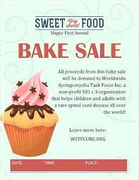 Bake Sale Flyer Templates Free Bake Sale Flyer Unique Template Pink Cake Flyers Templates