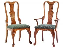 alternate view of amish victoria dining room chairs