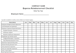 Employees Can Use This Expenses Template To Request Reimbursement ...