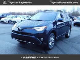 2018 New Toyota RAV4 Platinum FWD at Fayetteville Autopark, IID ...