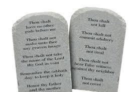 Ten Commandments in Texas Classrooms: But What Version? - UT News