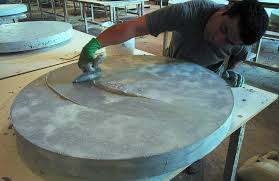 sealing a concrete countertop is a much needed step to installing and maintaining concrete countertops