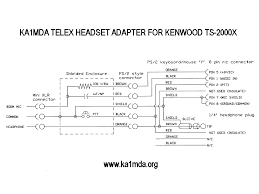 telex headset adapter adapter