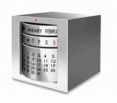 corporate gift idea stylish desk calender