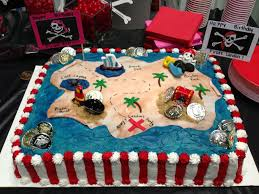 Pirate Cake How To In 2019 Party Ideas Pirate Birthday Cake