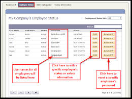 Employee Status How To Manage Employees From The Hr Dashboard Formfire Help
