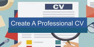 Create A Professional Cv How To Create A Professional Cv