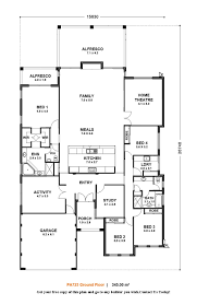 4 bedroom single story house plans small guest 15 unusual design plan y modern floor 7