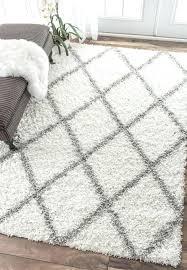 black and white round area rug area rugs large rugs furry white rug white plush rug