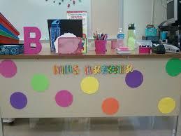 teacher desk decor inspiration