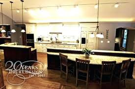 One Wall Kitchen Designs With An Island Plans Custom Inspiration Ideas
