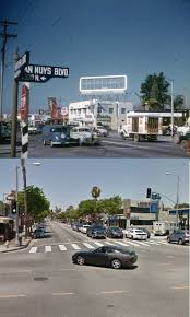 M street coffee dirba šiose srityse: Then Now Ventura Blvd Van Nuys Blvd Sherman Oaks 1950s And 2016 Los Angeles History San Fernando Valley Van Nuys California