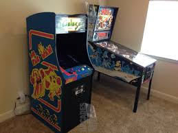Ms Pacman Cabinet Arcades4homecom Galaga Ms Pacman Reunion Used