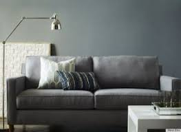 west elm style furniture.  Style Small Grey Couch From West Elm With Retro Decor Style For Furniture