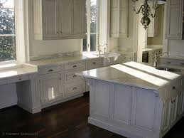 Kitchens With White Countertops White Marble Granite Countertops