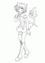 Coloring Pages Coloring Pages Splendi Printable Anime Photo Ideas