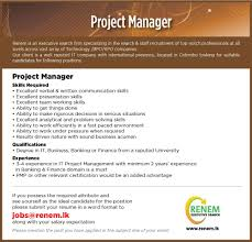 renem executive search linkedin project manager jpg