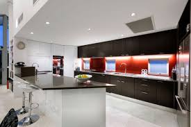 White Kitchen With Red Accents Architecture Adorable Red Accents Decorating Ideas In 2013