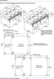 liebert air cooled fin tube condensers user manual 50 60 hz pdf anchor plan 122 3099 mm 42 1067mm 86 3