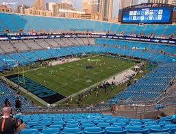 Bank Of America Stadium Section 549 Seat Views Seatgeek
