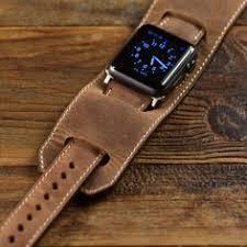 Apple Watch <b>Leather Band Classic</b> Handmade <b>Genuine Leather</b> ...