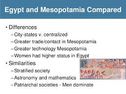 Compare And Contrast Mesopotamia And Egypt Egypt And Mesopotamia Comparison Essay Homework Academic Writing