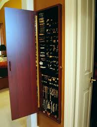 hanging jewelry armoire designs