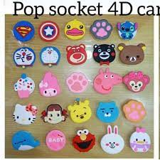 There are several things that different between pop and rock. Jual Popsocket Karakter 3d Cartoon Pop Socket Ring Holder Hp Universal Di Lapak Sein Deedat Bukalapak