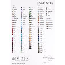 Swarovski Ab Color Chart Swarovski Color Chart Xirius 1088 Round Stone Color Chart