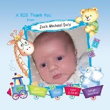Baby Boy Thank You Cards Baby Card T9b Boy Thank You Card Photo Frame Train Buy