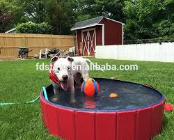 outdoor covered dog potty area bath