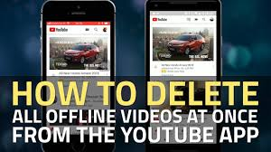 How can it delete downloads on iphone? Youtube How To Delete All Offline Videos From The Youtube App On Android Iphone Or Ipad Ndtv Gadgets 360