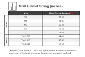 Msr Helmet Size Chart Msr Youth Sc1 Score Helmet Riding Gear Rocky Mountain Atv Mc