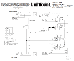 62917 western unimount hb 1 headlight harness kit dodge ram 99 throughout snow plow wiring diagram for