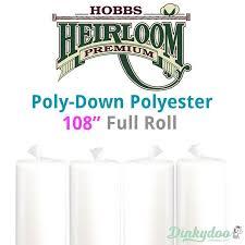 Hobbs Poly-Down Polyester Batting - 108