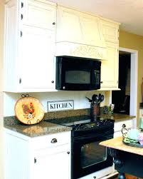 built in stove. Microwave Over The Range With Vent Hood Combination Combo Built In Stove Design Ventilation Options