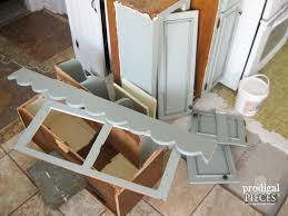 Repurposing Repurposed Kitchen Cabinets Into Home Decor Prodigal Pieces