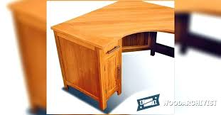 computer desk plans free with hutch